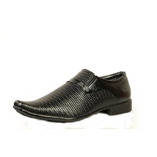 Tussia Men's Synthetic Leather Formal Shoes AP012SFBLK