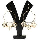 GM International Golden Colour New Design Brass Earrings For Women (GM-EAR-55)