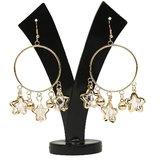 GM International Golden Colour New Design Brass Earrings For Women (GM-EAR-67)