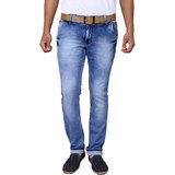 X20 Jeans Royal Blue Denim Lycra Jeans for Men