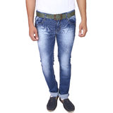 X20 Jeans Blue Denim Lycra Jeans for Men