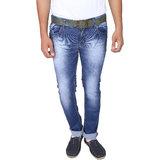X20 Jeans Blue Denim Lycra Jeans for Men
