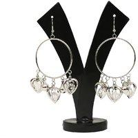 GM International Golden Colour New Design Brass Earrings For Women (GM-EAR-53)