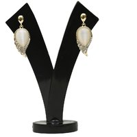 GM International Golden Colour New Design Brass Earrings For Women (GM-EAR-65)
