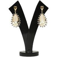 GM International Golden Colour New Design Brass Earrings For Women (GM-EAR-68)