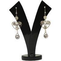 GM International Golden Colour New Design Brass Earrings For Women (GM-EAR-75)