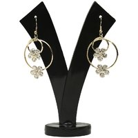 GM International Golden Colour New Design Brass Earrings For Women (GM-EAR-76)
