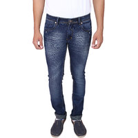X20 Jeans Dark Blue Denim Lycra Jeans for Men
