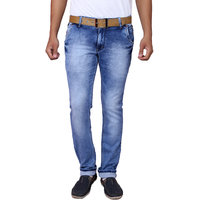X20 Jeans Royal Blue Denim Lycra Jeans for Men