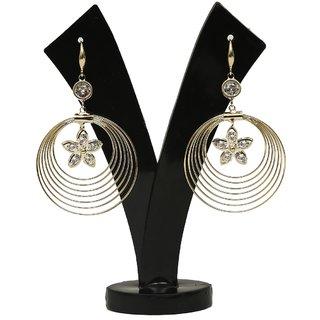 GM International Golden Colour New Design Brass Earrings For Women (GM-EAR-62)