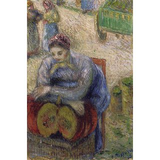 The Museum Outlet - Pumpkin Merchant, 1883 - Poster Print Online Buy (24 X 32 Inch)