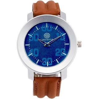 Shostopper Cool Blue Dial Analogue Watch For Men - SJ60031WM