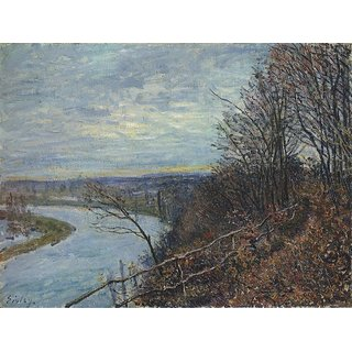 The Museum Outlet - November Afternoon, 1881 - Poster Print Online Buy (30 X 40 Inch)