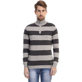 Celio Beige Long Sleeve Sweaters For men