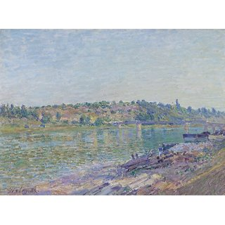 The Museum Outlet - The Hill of Celle-Sous-Moret in Saint-Mammes, 1884 - Poster Print Online Buy (30 X 40 Inch)
