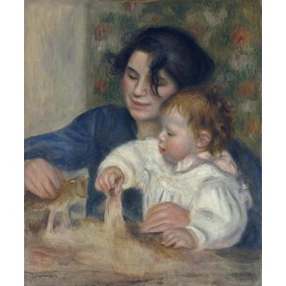The Museum Outlet - Gabrielle and Jean 2, 1895 - Poster Print Online Buy (30 X 40 Inch)