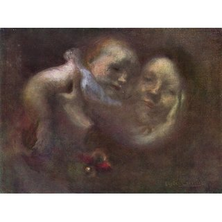 The Museum Outlet - Maternity by Eugene Carriere - Poster Print Online Buy (24 X 32 Inch)