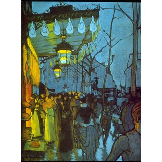 The Museum Outlet - Avenue De Clichy by Anquetin - Poster Print Online Buy (24 X 32 Inch)