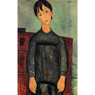 The Museum Outlet - Modigliani - Girl with a black robe - Poster Print Online Buy (24 X 32 Inch)