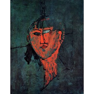 The Museum Outlet - Modigliani - Head - Poster Print Online Buy (24 X 32 Inch)
