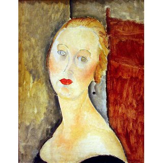 The Museum Outlet - Modigliani - Portrait de Germaine Survage - Poster Print Online Buy (24 X 32 Inch)