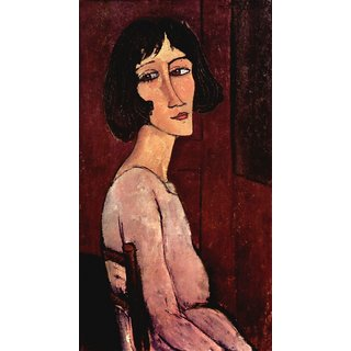 The Museum Outlet - Modigliani - Portrait of Margarita - Poster Print Online Buy (24 X 32 Inch)