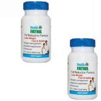 HealthVit FATNIL Fat Reduction Formula 60 Tablets (Pack Of 2)