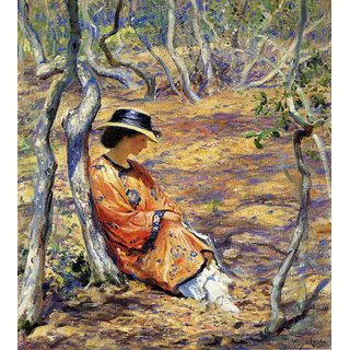 The Museum Outlet - In the Oak Grove, 1919 - Poster Print Online Buy (24 X 32 Inch)