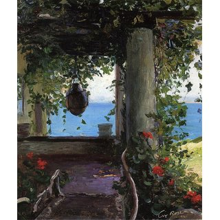 The Museum Outlet - La Jolla Arbor - Poster Print Online Buy (24 X 32 Inch)
