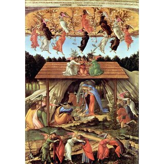 The Museum Outlet - Birth of Christ (Mystic birth) by Botticelli - Poster Print Online Buy (24 X 32 Inch)