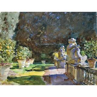 The Museum Outlet - John Singer Sargent - Villa di Marlia, Lucca - Poster Print Online Buy (24 X 32 Inch)