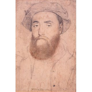 The Museum Outlet - Portrait of Sir William Sharington, 1540-43 - Poster Print Online Buy (24 X 32 Inch)