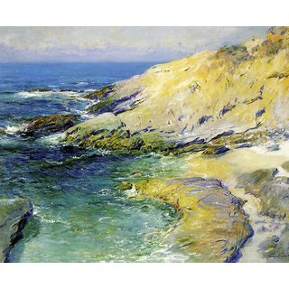 The Museum Outlet - View of Wood's Cove - Poster Print Online Buy (24 X 32 Inch)