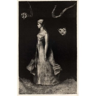 The Museum Outlet - Haunting, 1894 - Poster Print Online Buy (24 X 32 Inch)