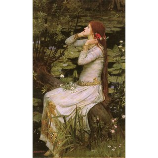 The Museum Outlet - Ophelia 1894 - Poster Print Online Buy (24 X 32 Inch)