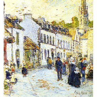 The Museum Outlet - Pont-Aven, Evening, 1897 - Poster Print Online Buy (24 X 32 Inch)