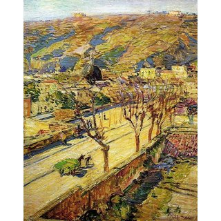 The Museum Outlet - Posilippo, 1897 - Poster Print Online Buy (24 X 32 Inch)