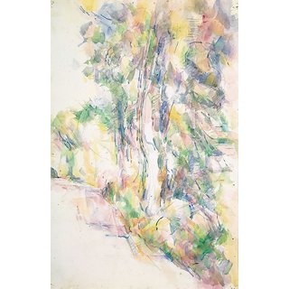 The Museum Outlet - Road with Trees on a Slope, 1904 - Poster Print Online Buy (24 X 32 Inch)