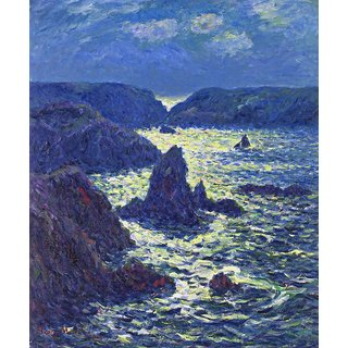 The Museum Outlet - Rocks at Goulphar, 1904 - Poster Print Online Buy (24 X 32 Inch)