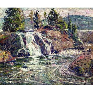 The Museum Outlet - Waterfall, 1916-19 - Poster Print Online Buy (24 X 32 Inch)