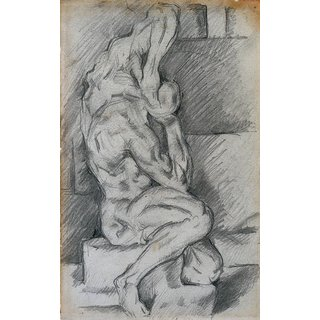 The Museum Outlet - Sketch of Anatomical Sculpture, 1881-84 - Poster Print Online Buy (24 X 32 Inch)