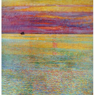 The Museum Outlet - Sunset at Sea, 1911 - Poster Print Online Buy (24 X 32 Inch)