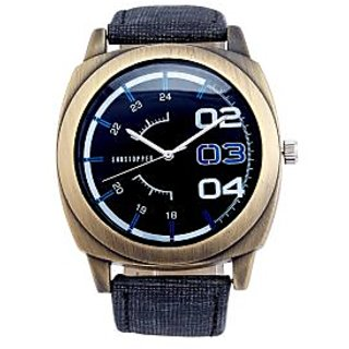 Shostopper Stylish Navy Blue Dial Analogue Watch For Men - SJ60023WM