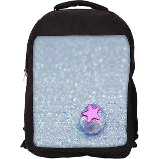 Snoogg Starfish Jelly Designer Laptop Backpacks