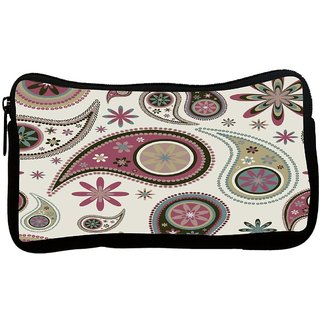 Snoogg Amazed Pattern Poly Canvas S Multi Utility Travel Pouch