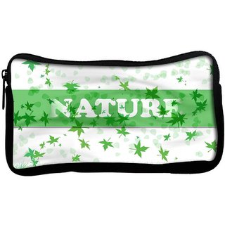 Snoogg Nature Poly Canvas  Multi Utility Travel Pouch