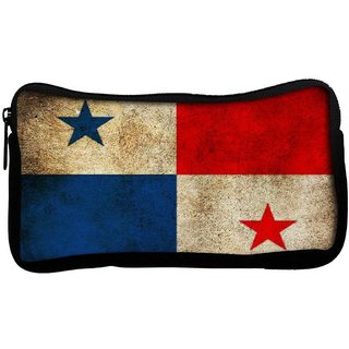 Snoogg Panama Poly Canvas  Multi Utility Travel Pouch