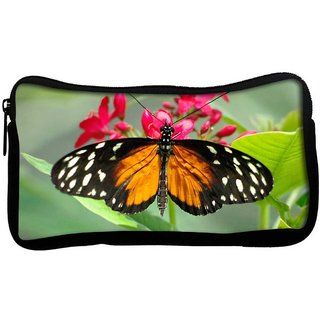 Snoogg Dragon Butterfly Poly Canvas  Multi Utility Travel Pouch