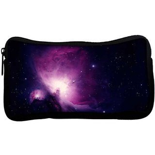 Snoogg Stars In The Galaxy Poly Canvas  Multi Utility Travel Pouch