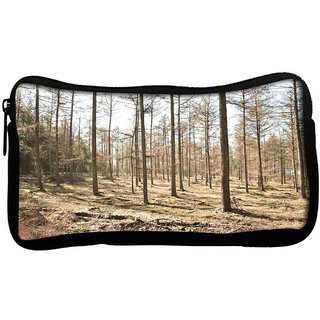 Snoogg Dried Trees Poly Canvas  Multi Utility Travel Pouch